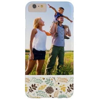 Capa Barely There Para iPhone 6 Plus Teste padrão de borboleta floral da foto feita sob