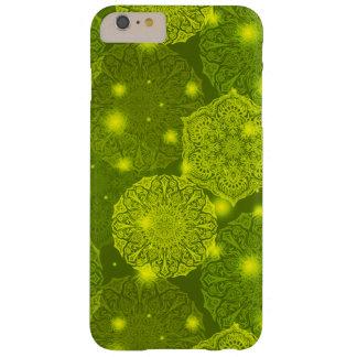Capa Barely There Para iPhone 6 Plus Teste padrão luxuoso floral da mandala