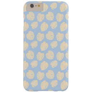 Capa Barely There Para iPhone 6 Plus Teste padrão Pastel tropical da lavanda & do limão