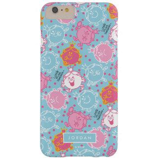 Capa Barely There Para iPhone 6 Plus Testes padrões cor-de-rosa da senhorita princesa |