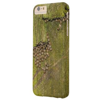 Capa Barely There Para iPhone 6 Plus Textura do latido de árvore