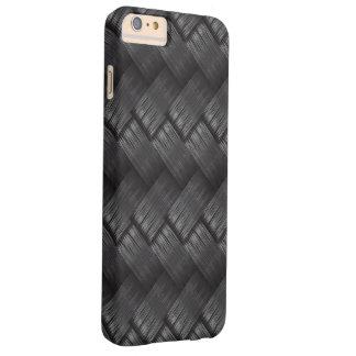 Capa Barely There Para iPhone 6 Plus Textura do Weave da fibra do carbono