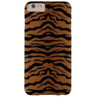Capa Barely There Para iPhone 6 Plus Tigre preto de Brown