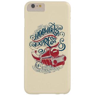 Capa Barely There Para iPhone 6 Plus Tipografia expressa de Harry Potter   Hogwarts