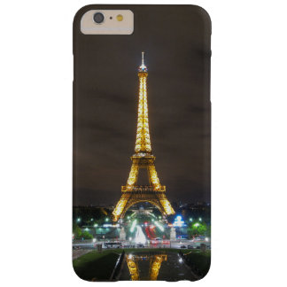 Capa Barely There Para iPhone 6 Plus Torre Eiffel na noite, Paris