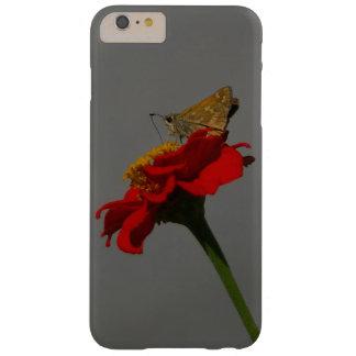 Capa Barely There Para iPhone 6 Plus Traças e Zinnia vermelho