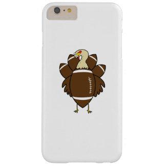 Capa Barely There Para iPhone 6 Plus Turquia e acção de graças do futebol engraçada