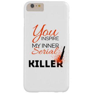 Capa Barely There Para iPhone 6 Plus Você inspira meu assassino em série interno