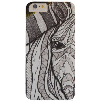 Capa Barely There Para iPhone 6 Plus Zebra poli