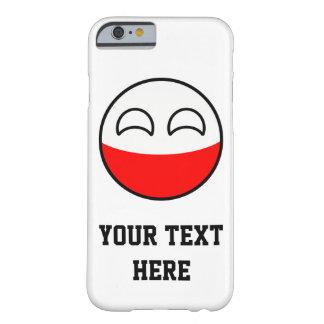 Capa Barely There Para iPhone 6 Polônia Geeky de tensão engraçado Countryball