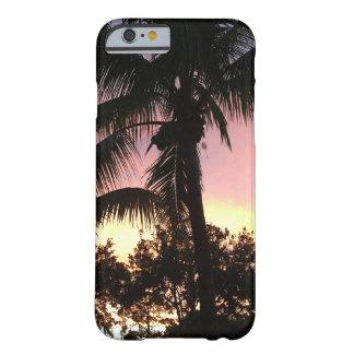Capa Barely There Para iPhone 6 Por do sol da palmeira