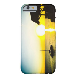 Capa Barely There Para iPhone 6 Por do sol do oceano