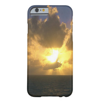 Capa Barely There Para iPhone 6 Por do sol sobre o Oceano Pacífico