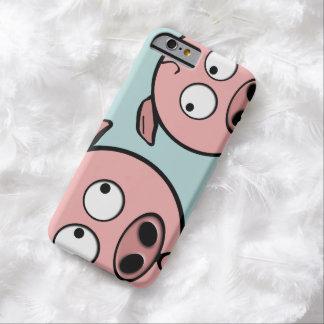 Capa Barely There Para iPhone 6 Porcos curiosos bonitos