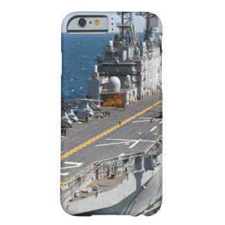 Capa Barely There Para iPhone 6 Porta-aviões do marinho dos E.U.
