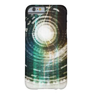 Capa Barely There Para iPhone 6 Portal futurista da tecnologia com Digitas
