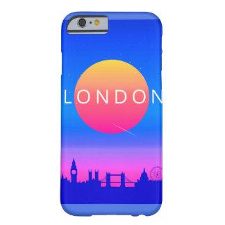 Capa Barely There Para iPhone 6 Poster de viagens dos marcos de Londres