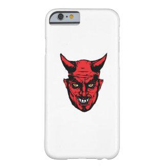 Capa Barely There Para iPhone 6 Presente do diabo do horror do Dia das Bruxas
