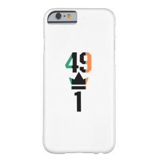 Capa Barely There Para iPhone 6 Presente dos fãs de encaixotamento para encaixotar
