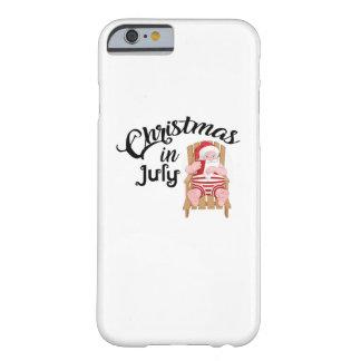 Capa Barely There Para iPhone 6 Presente engraçado do Natal em julho
