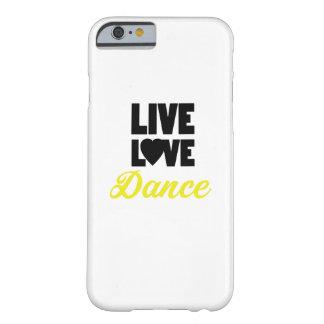 Capa Barely There Para iPhone 6 Presente vivo do dançarino da dança da dança do