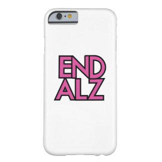 Capa Barely There Para iPhone 6 Presentes do roxo do mês da consciência de Alz