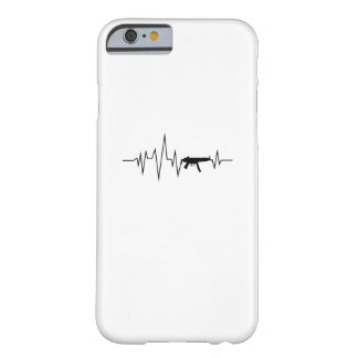 Capa Barely There Para iPhone 6 Presentes legal da pulsação do coração da arma do