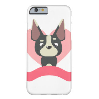 Capa Barely There Para iPhone 6 Pug Love