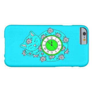 Capa Barely There Para iPhone 6 Pulso de disparo do gato