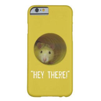 Capa Barely There Para iPhone 6 Rato bonito no animal engraçado do furo