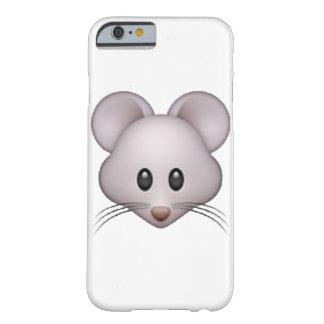 Capa Barely There Para iPhone 6 Rato - Emoji