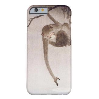 Capa Barely There Para iPhone 6 Reflexão de travamento do macaco da lua por Koson