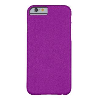 Capa Barely There Para iPhone 6 Reflexo roxo contínuo