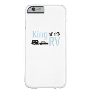 Capa Barely There Para iPhone 6 Rei de acampamento engraçado das férias de