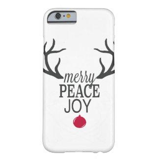 Capa Barely There Para iPhone 6 Rena moderna do Natal das tendências