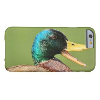 Capa Barely There Para iPhone 6 retrato do pato do pato selvagem