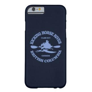 Capa Barely There Para iPhone 6 Retrocedendo o rio do cavalo