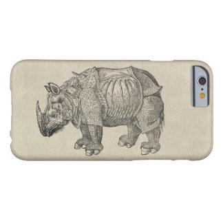 Capa Barely There Para iPhone 6 Rinoceronte de Durer do vintage