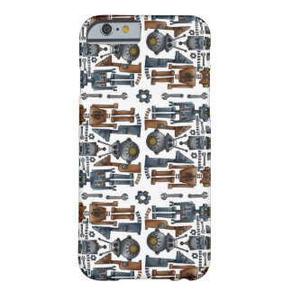 Capa Barely There Para iPhone 6 Robotz
