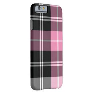 Capa Barely There Para iPhone 6 Rosa da xadrez