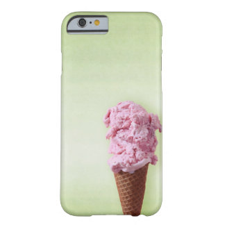 Capa Barely There Para iPhone 6 Rosa verde do sorvete - divertimento - iPhone 6/6s