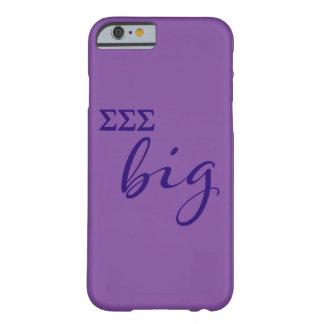 Capa Barely There Para iPhone 6 Roteiro grande do Sigma do Sigma do Sigma