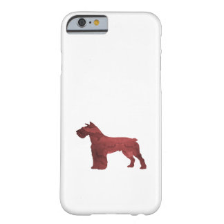 Capa Barely There Para iPhone 6 Schnauzer