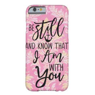 Capa Barely There Para iPhone 6 Seja ainda e saiba que eu sou com você AMOR de