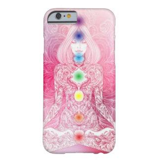 Capa Barely There Para iPhone 6 Senhora cor-de-rosa de sete Chakras