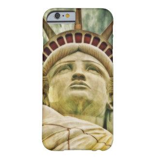 Capa Barely There Para iPhone 6 Senhora Liberdade, estátua da liberdade