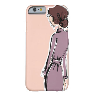 Capa Barely There Para iPhone 6 Senhora na lavanda