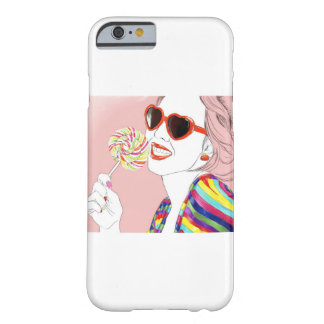 Capa Barely There Para iPhone 6 senhora sassy