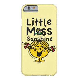 Capa Barely There Para iPhone 6 Senhorita pequena pequena Luz do sol Riso da