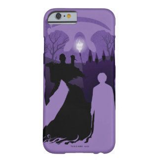 Capa Barely There Para iPhone 6 Silhueta da morte de Harry Potter |